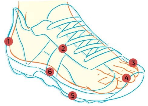 How Snug Should Running Shoes Fit